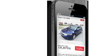 Achetez directement de votre mobile!